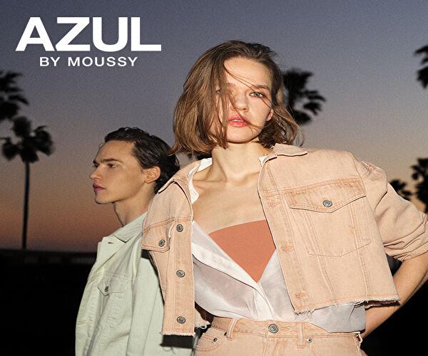【AZUL BY MOUSSY】ジーニングカジュアルベースのメンズ&レディーススタイル